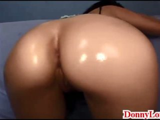 Donny Long Gives Sneaky Half Creampie and Come on Pussy