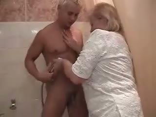 granny all, nice shower full, see fat ass more