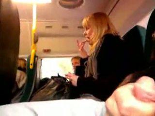 Masturbation Public Transport 29