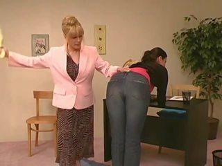 hq spanking, paddle film