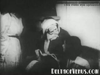 Ritka 1920s antik karácsonyi porn - egy karácsony tale