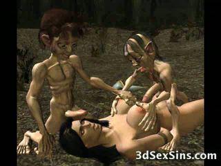 Aliens Fuck 3D Babes!