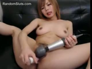 Japanese Girl With Two Toys