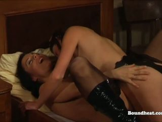 Lesbian Mistress Making Love with Slave, Porn f5