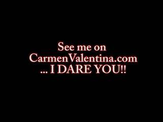 Carmen Valentina Cum Blast Facial, Free Porn db