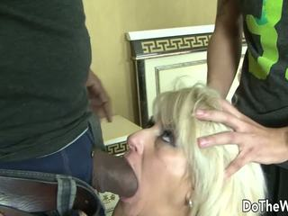 MILF Wife Takes Black Cock in all Holes, Porn 8d