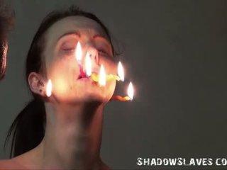 Cruel burning un electro bdsm no tortured slaves