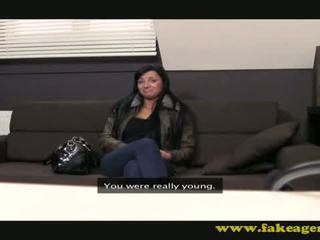 Danielle on casting couch