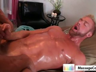 big dick you, you muscle, oil hot