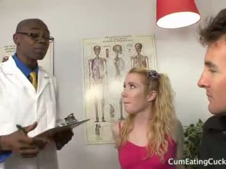 Nikki Blue Gets a Black Dick as Hubby Watches