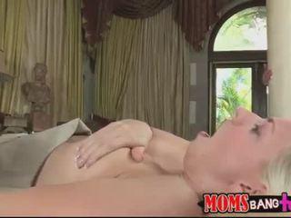 echt neuken porno, mooi orale seks actie, vol zuig- scène