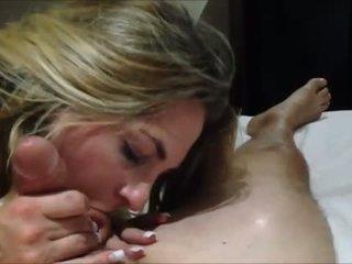 Amateur MILF sex and deepthroat
