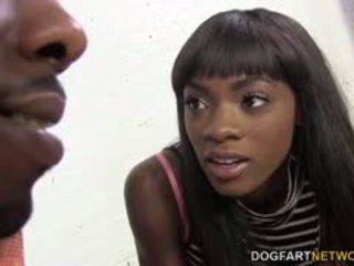 brunette porno, realiteit video-, vers doggystyle