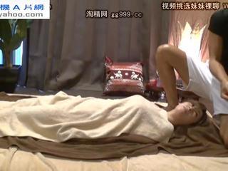 meer brunette scène, meer orale seks video-, nominale japanse vid