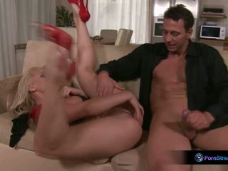 Katy Cambel Sits on Nick Face Fucks and Swallows His Cum