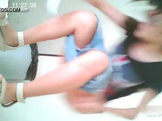 Kínai lányok megy hogy toilet.10