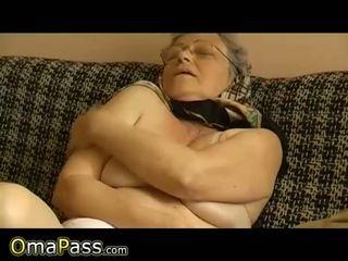 nice aged, granny check, watch dildo quality