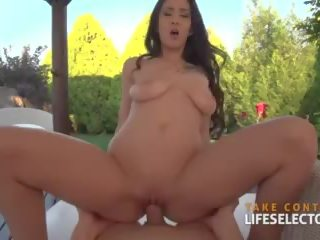Gorgeous Darcia Lee Sucks and Fucks on the Golf Course