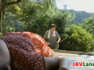 La dulce japonesa chica wants a joder