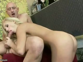 Young Sinead fucking old man