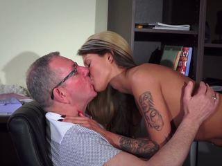 Hot Teen Fucking Old Man Blowjob Cum Swallow