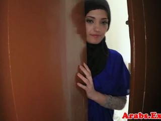 Warga arab amatur beauty pounded untuk wang, lucah 79