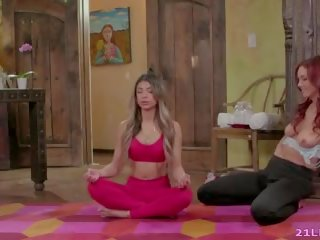 Squirting Meditation with Hot Lesbians, Porn 09