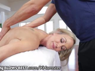 Brandi Love Lets Stepson Finish in Her Hot Mouth: Porn 12