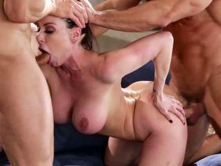 Kendra lust 在 一 性交 三人行, 免費 色情 90