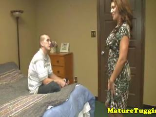matures, milf, teen tugs