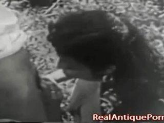 1915 クレイジー アンティーク アウトドア ポルノの!