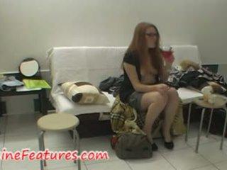 Sa likod ng entablado video may tsek redhead newbie