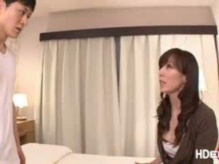 Fierbinte japenese reiko gets o score futand