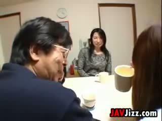 Jepang mom aku wis dhemen jancok masturbasi at the table