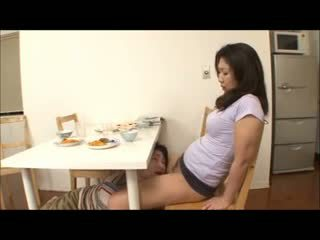 Hapon step ina may no panty