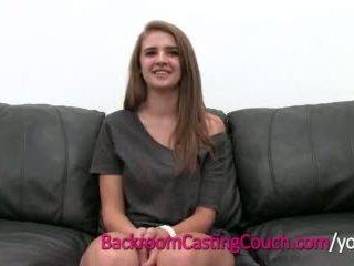 Teen Master Cocksucker Mia on Backroom Casting Couch