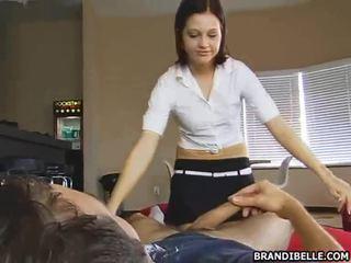 kwaliteit tiener sex nominale, cfnm, plezier geklede vrouw naakte man