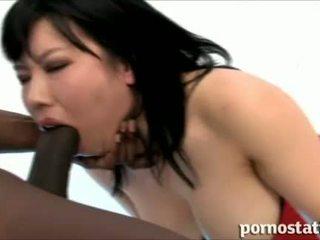 Porno Static: Asian slut babe loves cock sucking