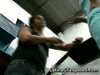 Latin Gf Night Drive Backseat Sex