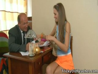 Excited Master Enticed His Enchanting Student.