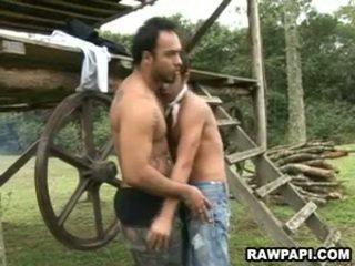 Fierbinte etnic homo 10 pounder sugand și al naibii stramt tâmpit bareback