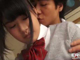 Supercute japonesa aluna itsuka fodido e creampied