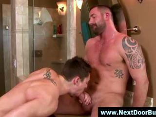 Gay muscle jocks blowjob cumshot