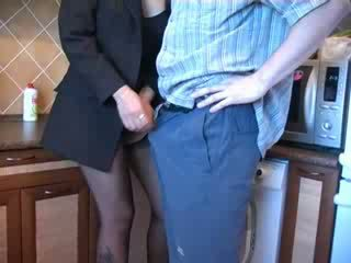 Amateur play couple fuck around the house.
