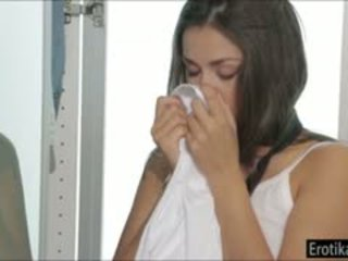 nice brunette all, reality hq, blowjob