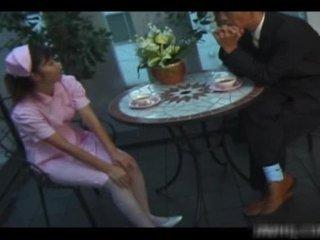 Iedegošas amerikāņi medmāsa rides zonker