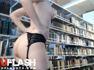 Nude In Public Library Amateur Blonde Teen Webcam Flashing Exhibitionist