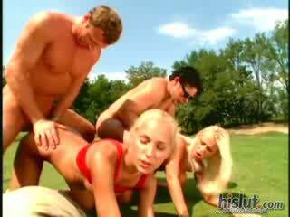 Anita parijs elisabeth zwitsers judith key silvia zon anaal orgie buiten groot titties blond internal kwak schot