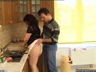 Gorda cona cozinha chão caralho, grátis gordinhos porno 81
