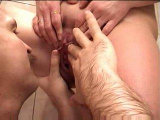Mature couple blow job pissing